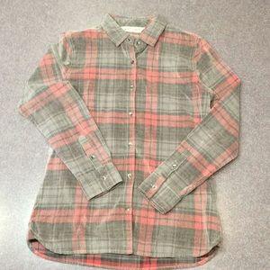 Woolrich Plaid corduroy 100% cotton shirt NWOT